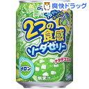 ダイドー 2つの食感ソーダゼリー メロン(280g*24本入)【送料無料】