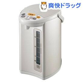 象印 マイコン沸とう電動ポット グレー CD-WY40-HA(1台)【象印(ZOJIRUSHI)】