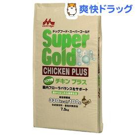 スーパーゴールド チキンプラス シニア犬用(7.5kg)【スーパーゴールド】[ドッグフード]