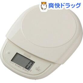 タニタ デジタルクッキングスケール アイボリー KD-313-IV(1台)【タニタ(TANITA)】