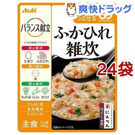 バランス献立 ふかひれ雑炊(100g*24袋セット)
