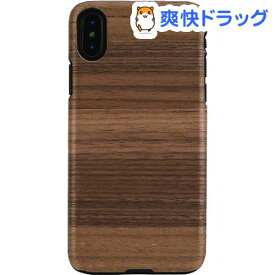 マンアンドウッド iPhone X 天然木ケース ストラト I10470i8(1コ入)【マン&ウッド(Man&Wood)】