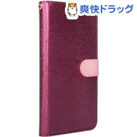 ハンスマレ iPhone 11 Pro CALF Diary ワインピンク HAN16770i58R(1個)【ハンスマレ(HANSMARE)】