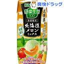 野菜生活100 北海道メロンミックス(195mL*12本入)【野菜生活】