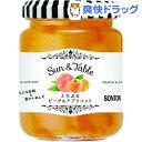 【訳あり】Sun&TabeLe とろぷるピーチ&アプリコット(145g)
