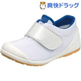 アサヒ健康くん 502A ホワイト/ネイビー KC36503-AB 23cm(1足)