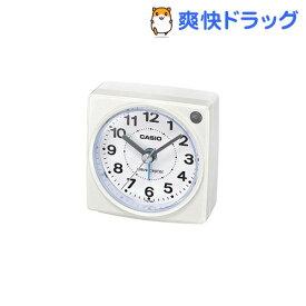 カシオ 電波置時計 ホワイト TQ-750J-7JF(1コ入)