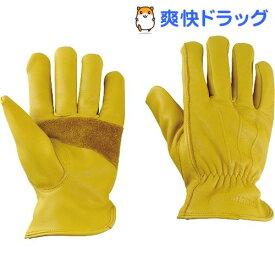 アウトドアソフトレザーグローブ 厚手 フリーサイズ UM-1920(1双)【キャプテンスタッグ】