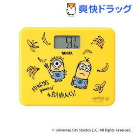 タニタ 体重計 ミニオンズ イエロー HD-UN-MI01(1台)【タニタ(TANITA)】
