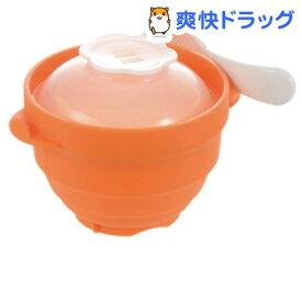 離乳食 シリコーン スチーマーおかゆ(1個)【リッチェル】[お食事グッズ ベビー食器]