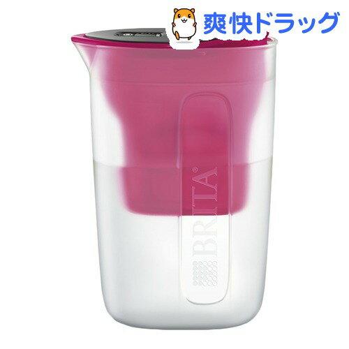ブリタ ファン ピンク マクストラプラスカートリッジ1個付き 日本正規品(1セット)【ブリタ(BRITA)】
