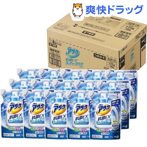 アタック 抗菌EX スーパークリアジェル つめかえ用 梱販売用(770g*15コ入)【アタック】