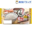 たきたてご飯コンパクト 国産米使用(180g*6食入)【たきたてご飯】