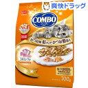 コンボ 猫下部尿路の健康維持 かつお味・鮭チップ・かつお節添え(140g*5袋入)【コンボ(COMBO)】