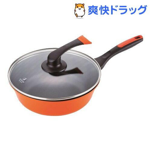 オレンジページスタイル IH対応 アルミマルチフライパン 26cm OPS-113(1コ入)【オレンジページスタイル】【送料無料】