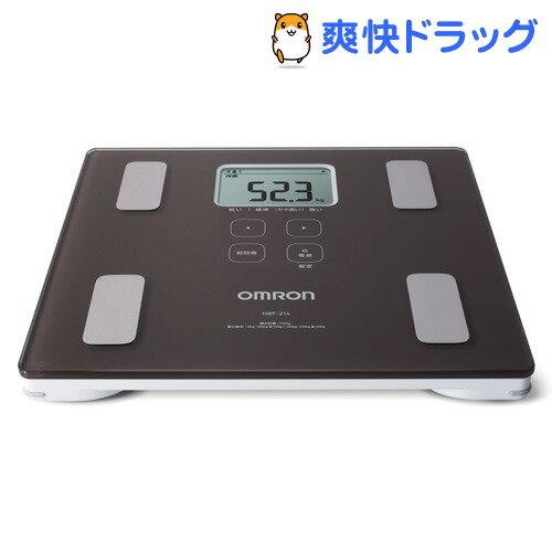 オムロン 体重体組成計 カラダスキャン HBF-214-BW(1台)【カラダスキャン】【送料無料】