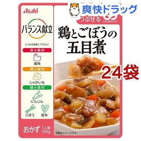 バランス献立 鶏とごぼうの五目煮(100g*24袋セット)