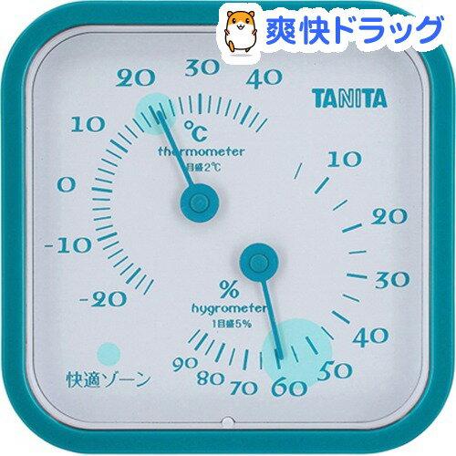 タニタ温湿度計ブルーTT-557-BL