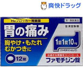 【第1類医薬品】ファモチジン錠「クニヒロ」(セルフメディケーション税制対象)(12錠)【クニヒロ】