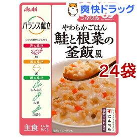 バランス献立 鮭と根菜の釜飯風(160g*24袋セット)