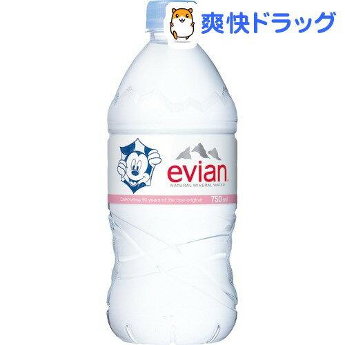 エビアン ディズニーパッケージ(750mL*12本入)【エビアン(evian)】