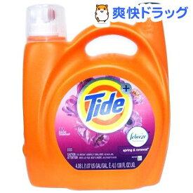 タイド プラス ファブリーズ スプリングリニューアル(4.08L)【タイド(Tide)】