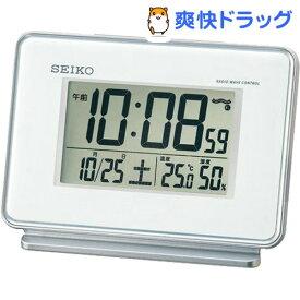 セイコー 電波時計 SQ767W(1台)【セイコー】