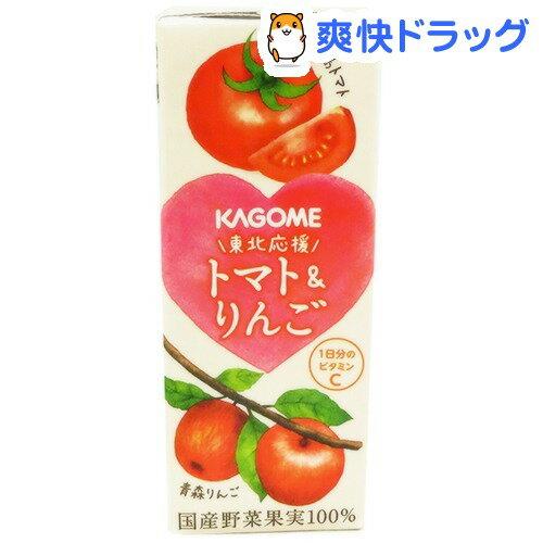 東北応援トマト&りんご(200mL*24本入)