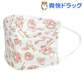 不織布子供マスク 箱入 マイメロ(30枚入)