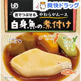 エバースマイル 白身魚の煮付け風ムース(115g)【エバースマイル】