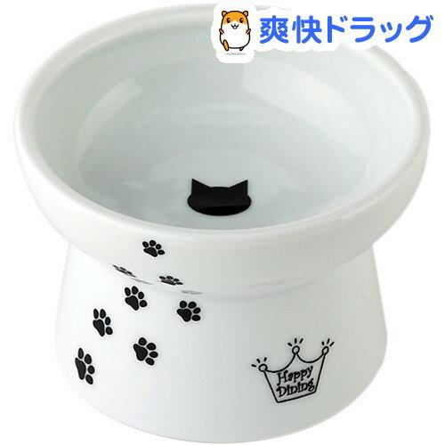 猫壱 脚付フードボウル 猫柄(1コ入)【猫壱】