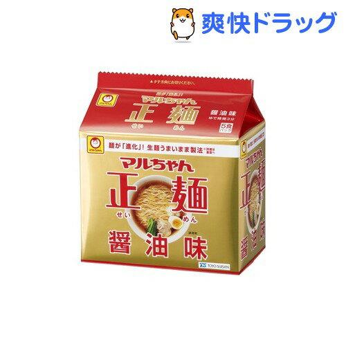 マルちゃん 正麺 醤油味(5食入)【マルちゃん正麺】
