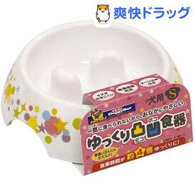 ドギーマン ゆっくりデコボコ食器 Sサイズ(1コ入)【ドギーマン(Doggy Man)】