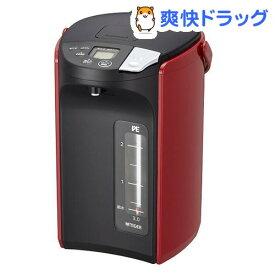 タイガー 蒸気レスVE電気まほうびん レッド PIP-A300R(1台)