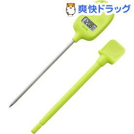 タニタ デジタル温度計 グリーン TT-583-GR(1台)【タニタ(TANITA)】