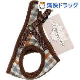 ウィッティガーデン WGマカロンチェックソフト胴輪3S/茶(1コ入)【ウィッティガーデン】