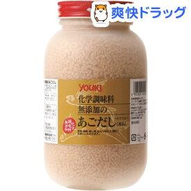 ユウキ 化学調味料無添加のあごだし(400g)