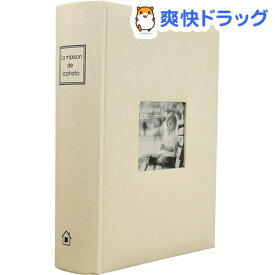 万丈 メガアルバム600 メゾンシリーズ ミルキーホワイト MS-600WH(1コ入)