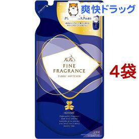 ファーファ ファインフレグランス オム 詰替用(500ml*4コセット)【ファーファ】[柔軟剤]