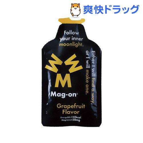 エナジージェル グレープフルーツ味(12コ入)【マグオン(Mag-on)】【送料無料】