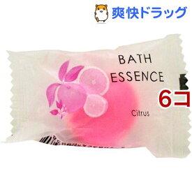 パトモス バスエッセンス1P シトラス(8g*6コセット)【パトモス】[入浴剤]