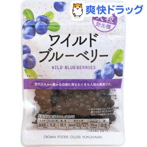 クラウンフーヅ ワイルドブルーベリー(42g)【クラウンフーヅ】