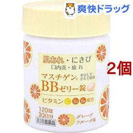 【第3類医薬品】マスチゲン BBゼリー錠(120錠*2コセット)【マスチゲン】