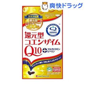【訳あり】【アウトレット】還元型コエンザイムQ10とマルチビタミン(40球)【ミナミヘルシーフーズ】