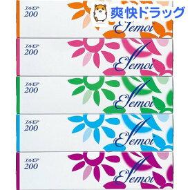 エルモア ティシュー 400枚(200組)(5箱入)【エルモア】[ティッシュ]