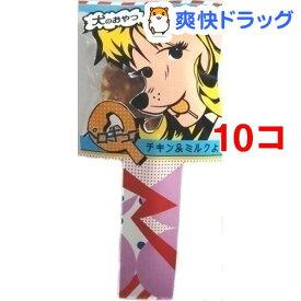 ペロQ チキン&ミルク(1本入*10コセット)