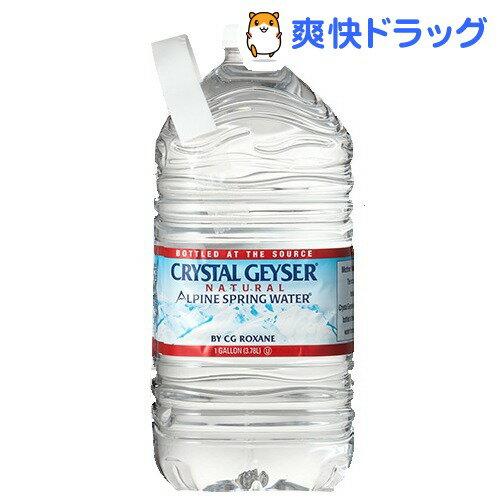クリスタルガイザー ガロンサイズ(3.78L*6本入)【クリスタルガイザー(Crystal Geyser)】[ミネラルウォーター 大容量 水]【送料無料】