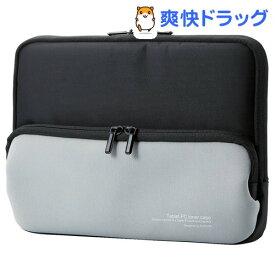 エレコム Surface Go ポーチ ネオプレン ポケット付き ブラック(1コ入)【エレコム(ELECOM)】