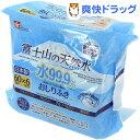 富士山の天然水 水99.9% おしりふき 富士裾野工場 限定生産 E-467(60枚入*6コ入入) ランキングお取り寄せ