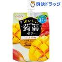 おいしい蒟蒻ゼリー マンゴー味(150g*6コ入)【たらみ】
